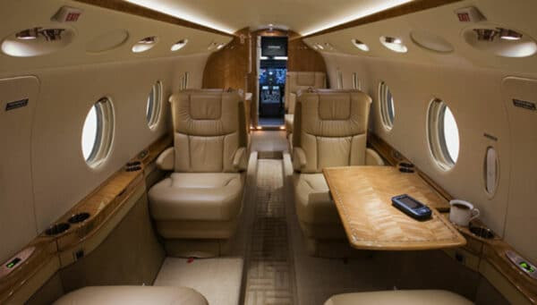 2007 GULFSTREAM G150 S/N 240 interior