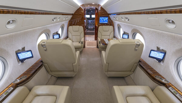 2005 GULFSTREAM G550 S/N 5072 interior