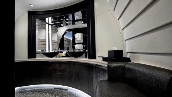 2007 BOEING BUSINESS JET S/N 36090 interior