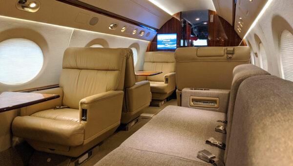 2006 GULFSTREAM G450 S/N 4059 interior