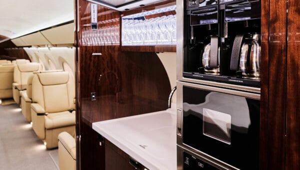 2017 GULFSTREAM G650ER S/N 6223 interior