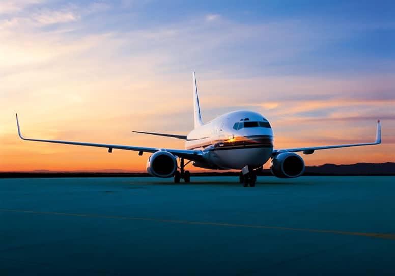 bbj on runway