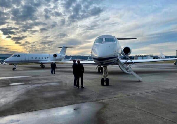 Gulfstream G550 closing